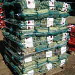 Printed Mesh Firewood Bags