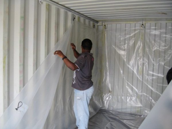 Shipping Container Liner