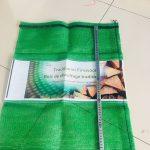 Printed Mesh Firewood Bag